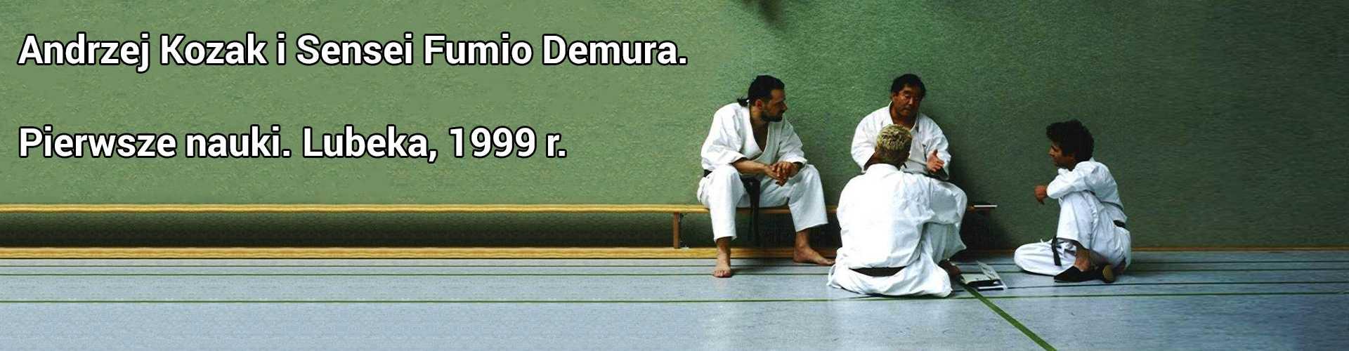 Andrzej Kozak Fumio Demura Karate-Do Shito-Ryu Kobudo Battodo Warszawa Ursynów Mokotów