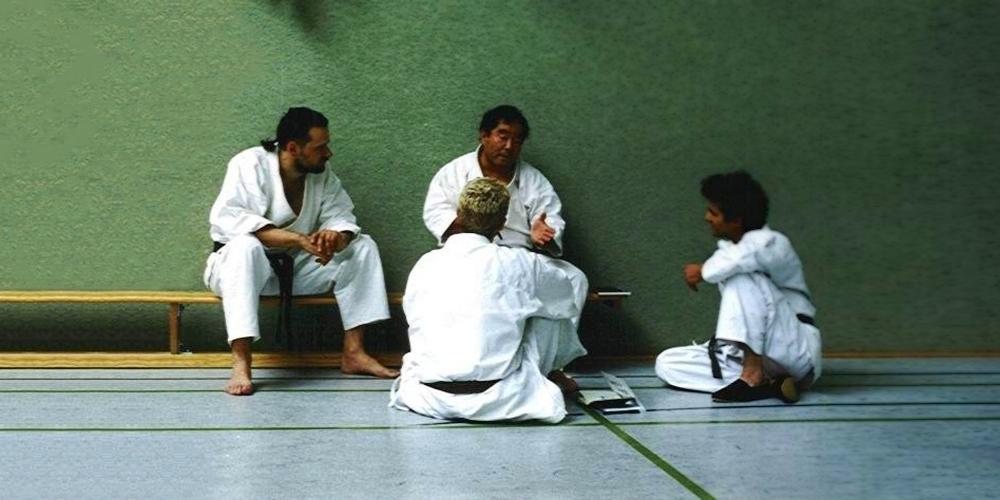 Fumio-Demura-Andrzej-Kozak-1999-Karate-do-Shito-ryu-Genbu-kai-Poland